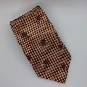 Tommy Hilfiger Tweed Look Insignia Men's Necktie